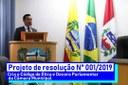 Aprovado projeto do Vereador Tayronne Henrique que cria Código de Ética e Decoro Parlamentar na Câmara de Pilar