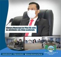Câmara Municipal de Pilar volta ás atividades em ritmo acelerado