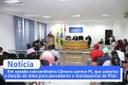 Câmara realiza Sessão Extraordinária e aprova PL que autoriza o Poder Executivo a doar lotes para pescadores e marisqueiras.