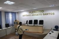 Prédio da Câmara Municipal de Pilar passa por sanitização